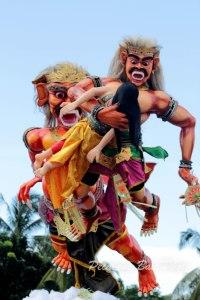 Pawai Ogoh-ogoh di Serang Banten