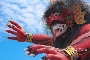Ogoh-ogoh Raksasa di Serang Banten