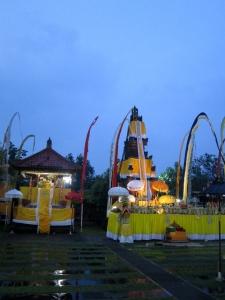 Padmasana Pura Kertha Jaya Pujawali Tumpek Krulut