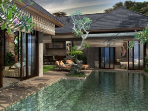 3d kolam air
